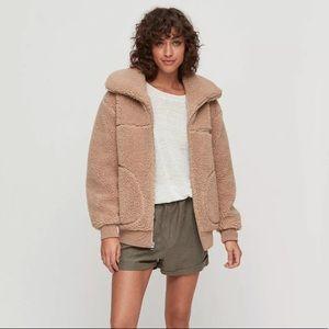 Aritzia WILFRED FREE Teddy Coat